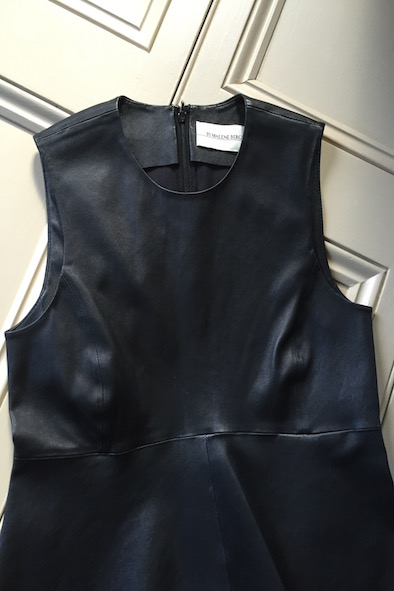 Malene Birger Kriseah leather top