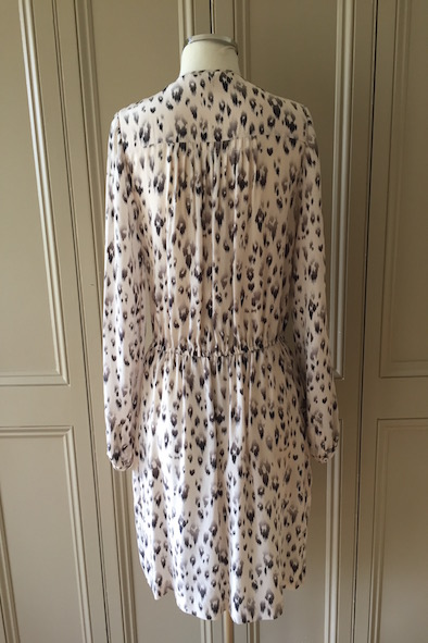 Rebecca Taylor silk drawstring dress