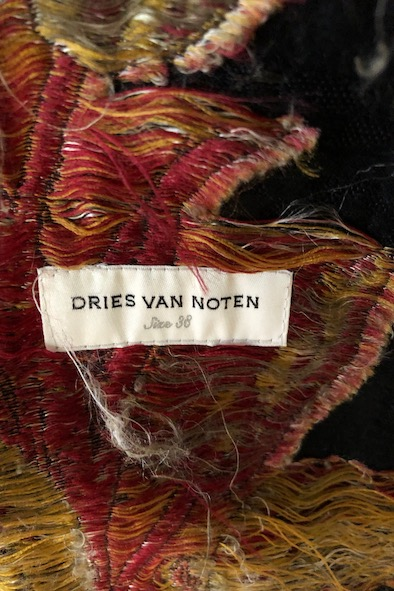 Dries Van Noten dress coat