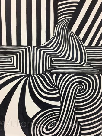 Op Art Optical Illusions Art Lesson