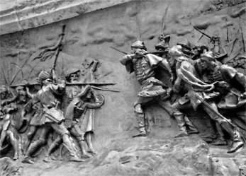 old battle memorial