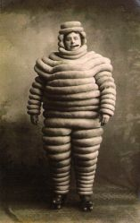 The first Michelin man