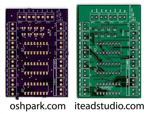 OSH Park vs iTeadStudio