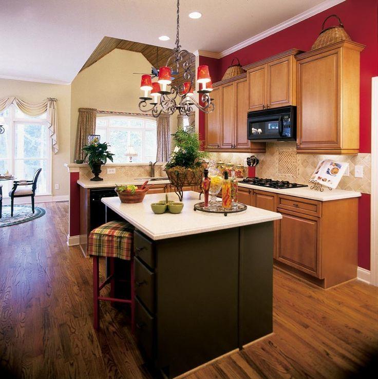 decorating kitchens rv kitchen cabinets red theme julia palosini