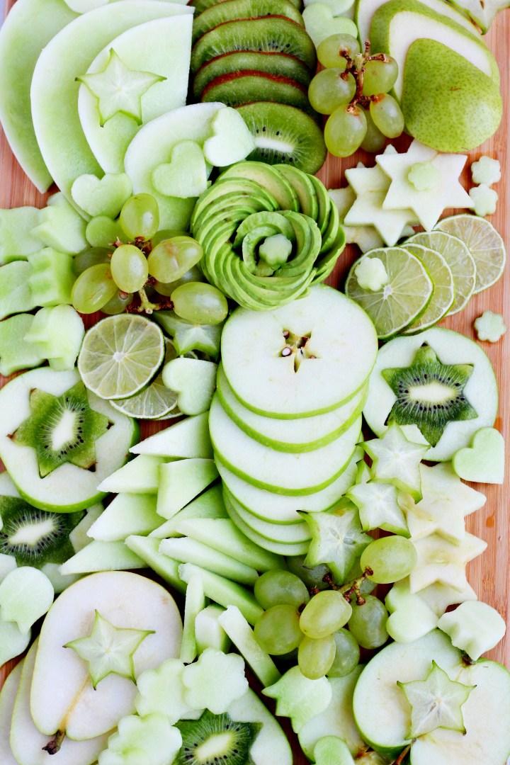 green fruit platter 2