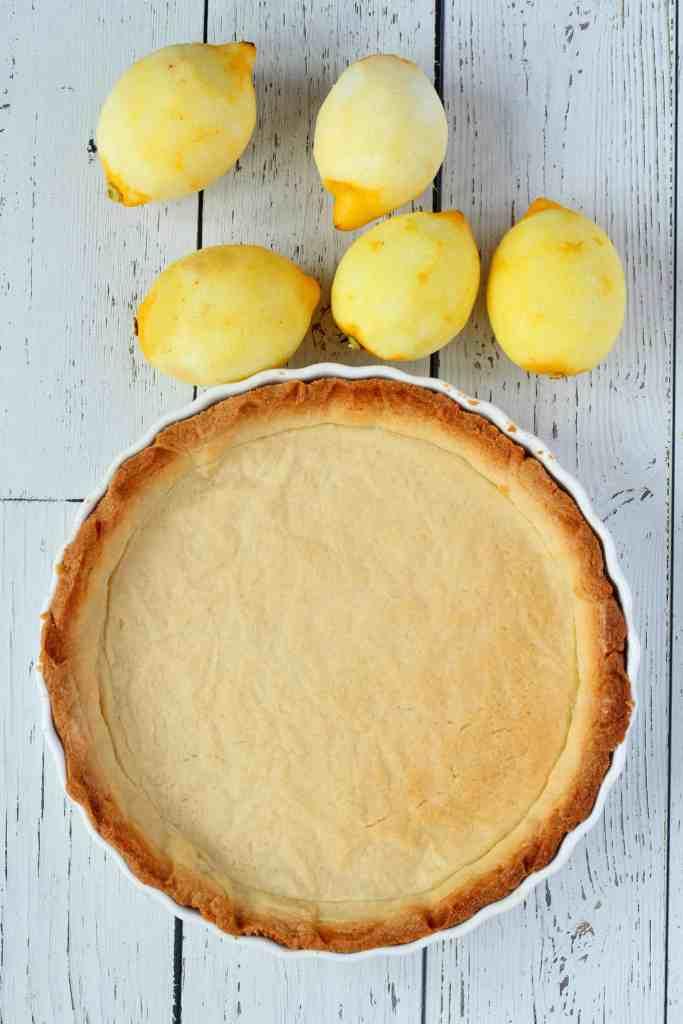 lemon tart shell