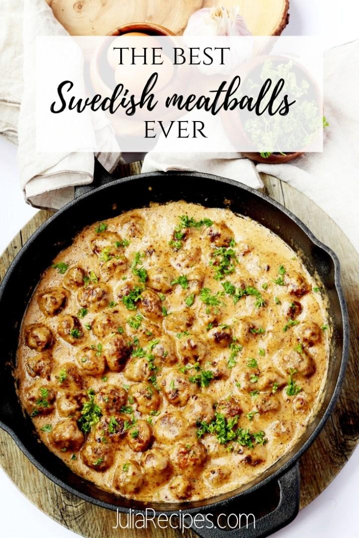 Swedish meatballs 6