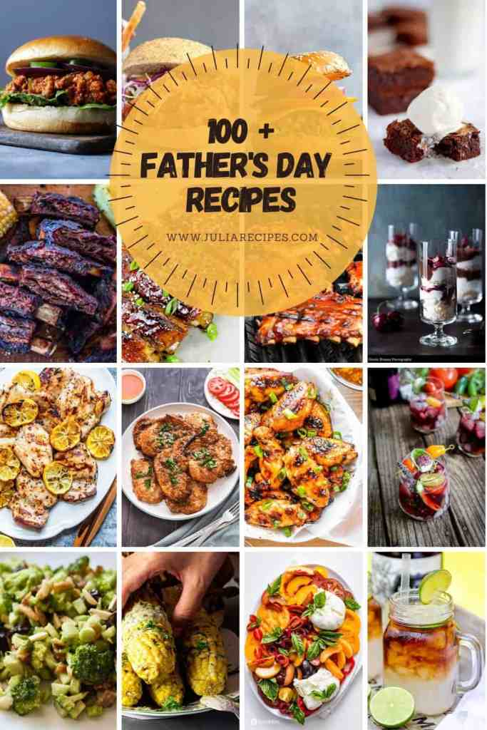 father's day recipes collection