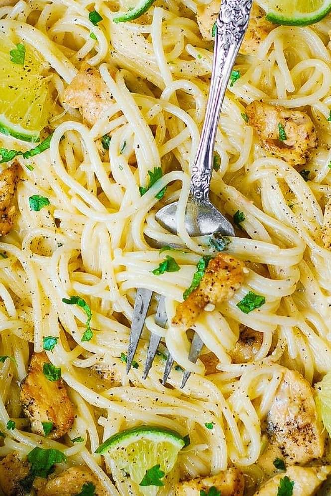 simple dinner ideas, easy pasta recipes, easy chicken pasta recipes,