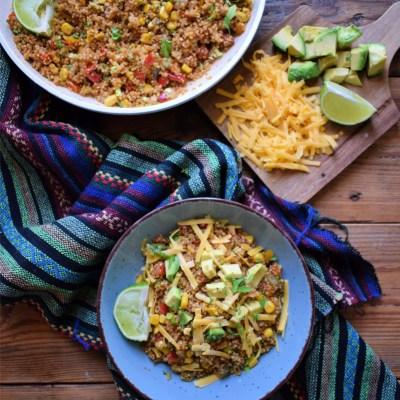 Southwestern Bell Pepper Quinoa