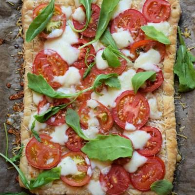Easy Puff Pastry Tomato Tart