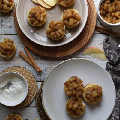 Mini Apple Pie Cheesecakes