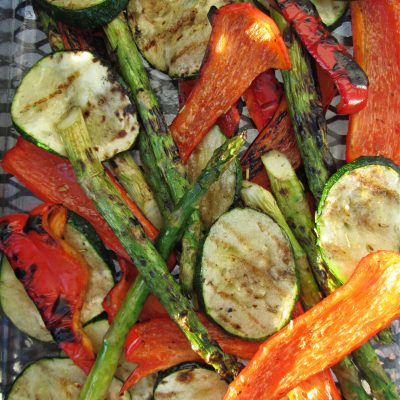 Summer Grilled Mixed Vegetables