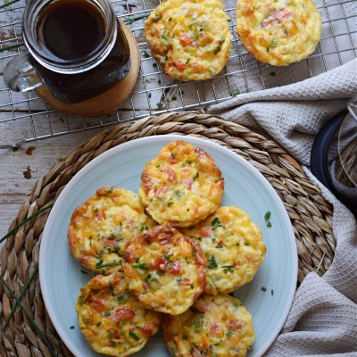 Bell Pepper & Egg Breakfast Muffins