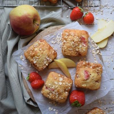 Strawberry and Apple Muffin Recipe