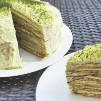 CREPE MATCHA CAKE