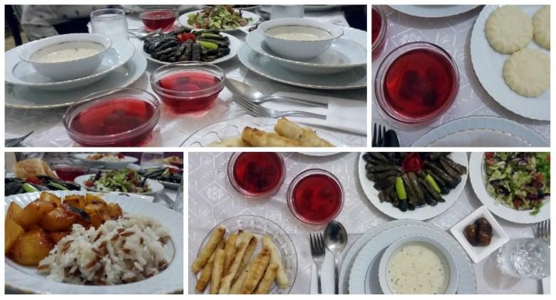 collage dinner kadir