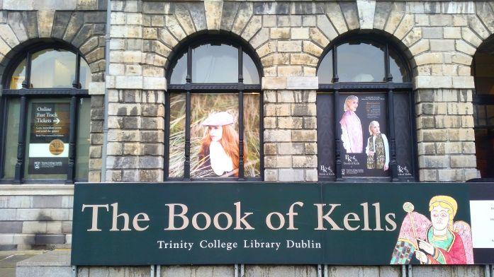 book of kells Trinity College Dublin