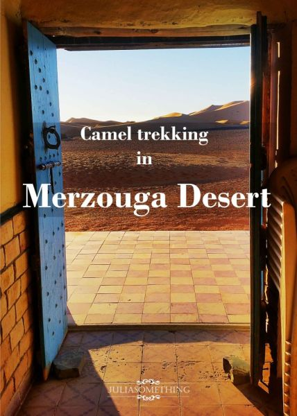 camel trekking Merzouga pin