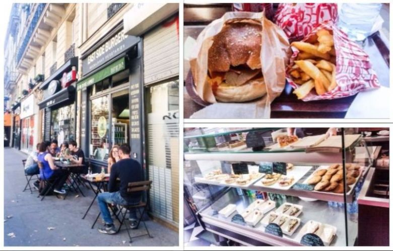 east side vegan burgers paris