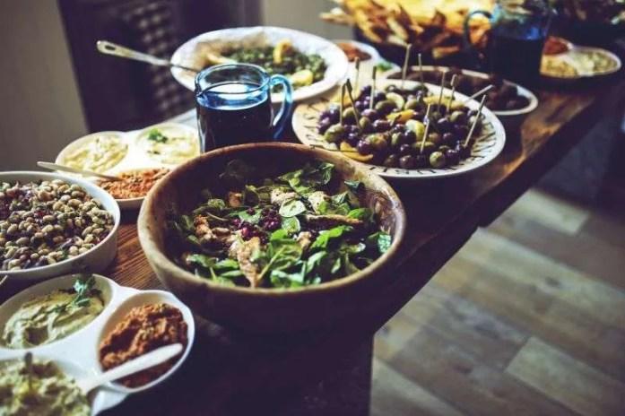 food salad healthy vegetables