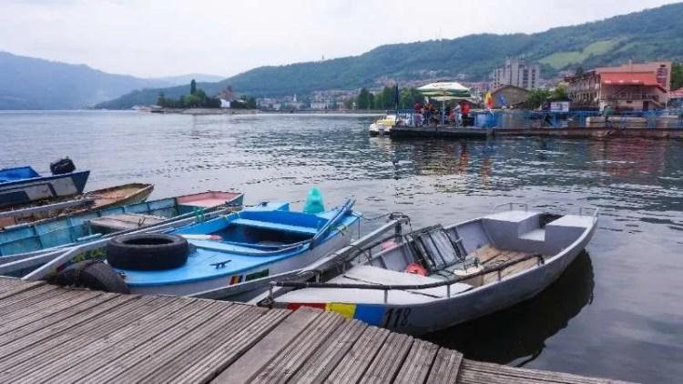 Orșova Cazanele Dunarii the Great and Small Danube Gorge