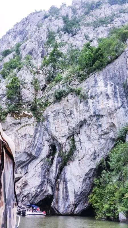 Ponicova Cave the Great and Small Danube Gorge cazanele dunarii