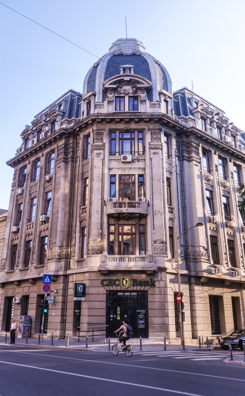 Questo discover people, places and stories Bucharest Romania CEC Bank