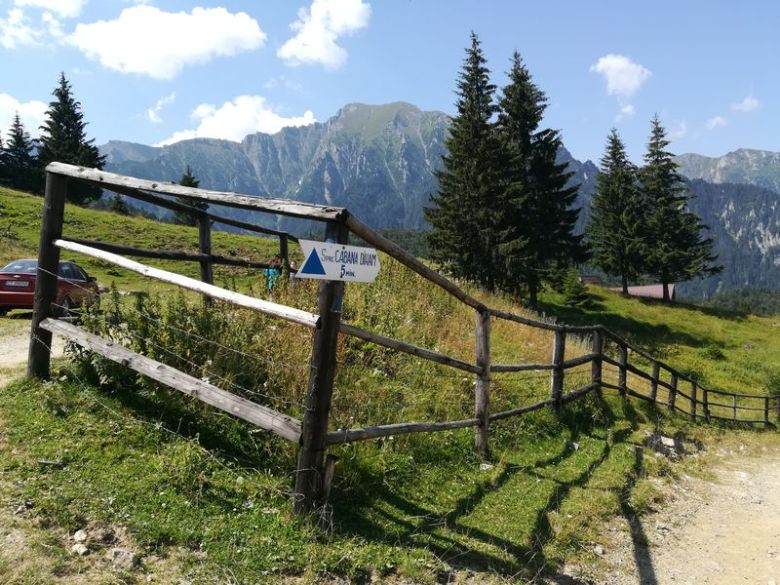 Bucegi mountain hike