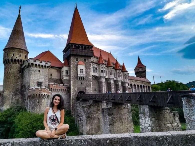 4 day car trip around Romania hunedoara castle
