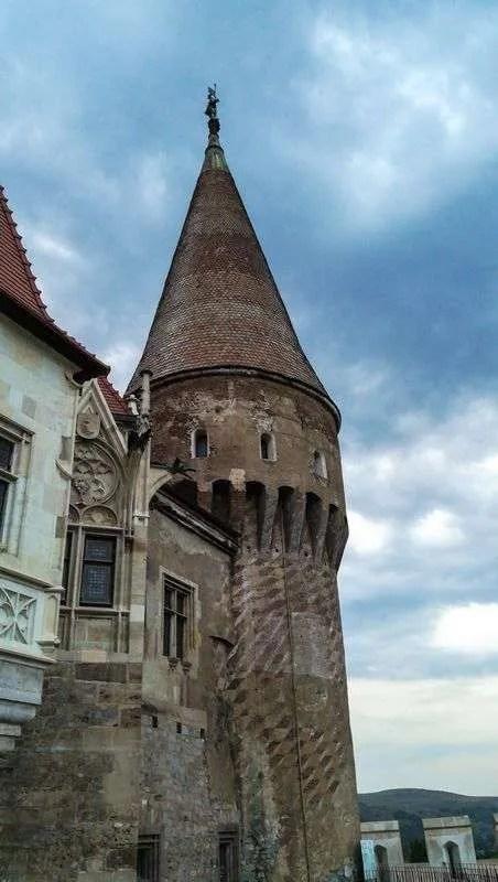 medieval castle Corvin Castel