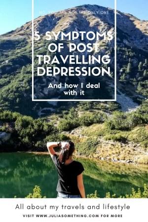 5 symptoms of post travelling depression