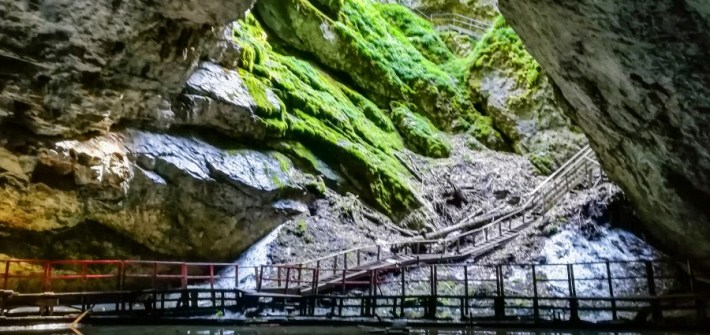 Scarisoara Cave, the glacier of Romania