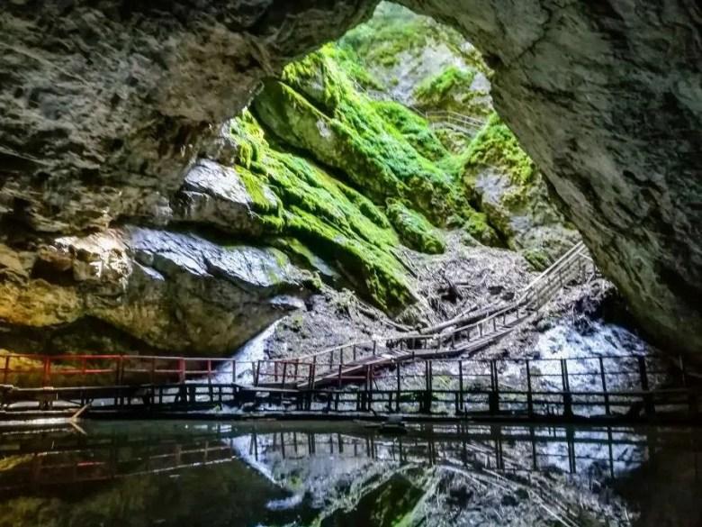 Scarisoara Cave, the glacier of Romania
