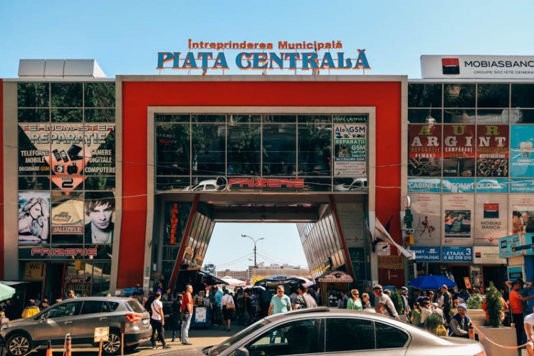 How to spend 48 hours in Chisinau, Moldova The central market