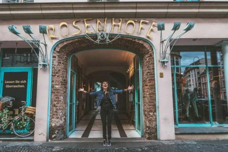 Wombats city hostel berlin self guided walking tour central Berlin