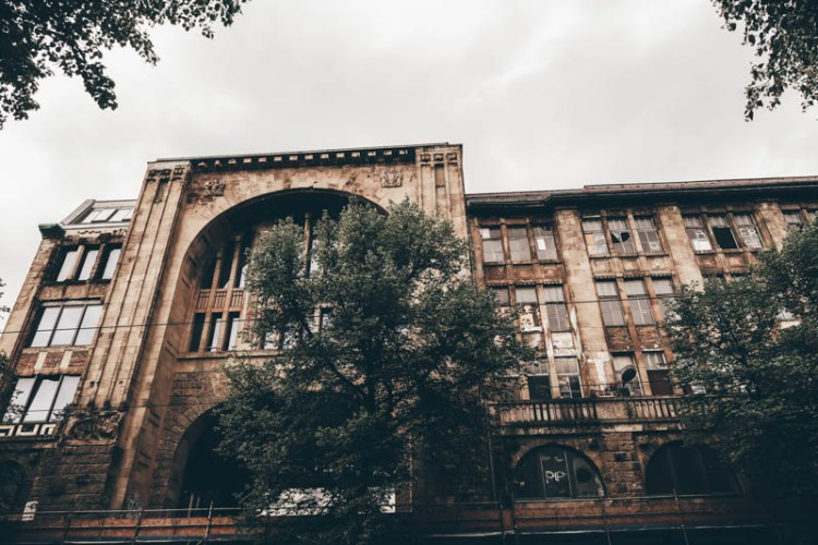 Kunsthaus Tacheles central berlin self-guided walking tour