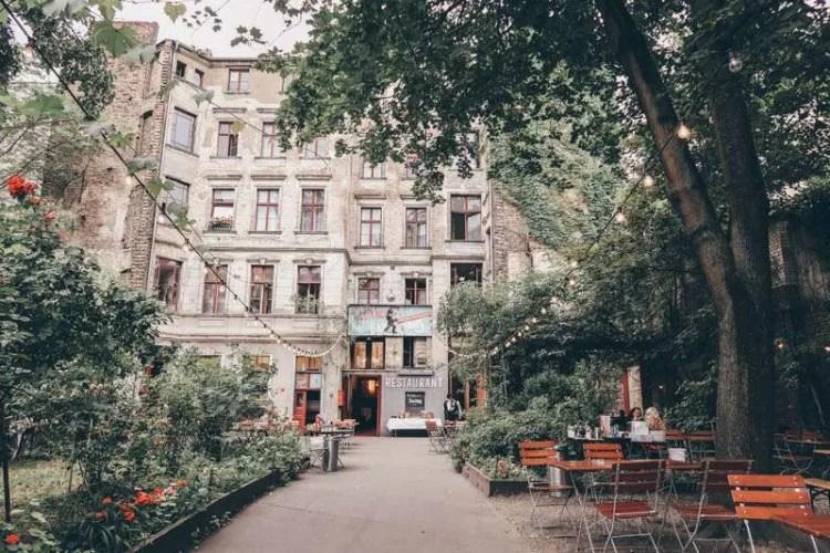Clärchens Ballhaus central berlin self-guided walking tour