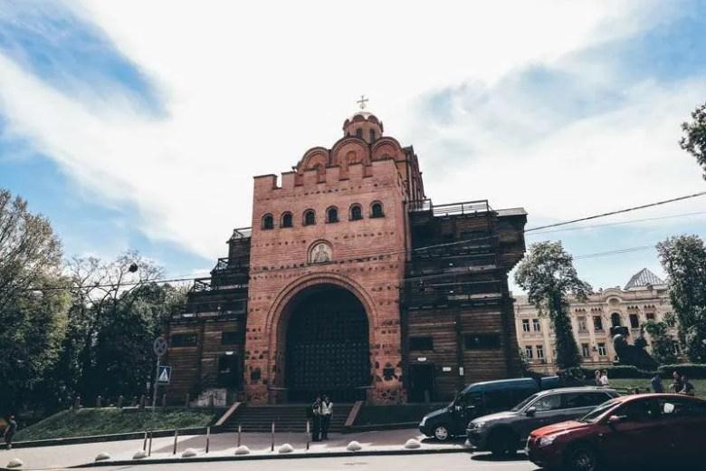 Golden Gates of Kiev visit kiev ukraine