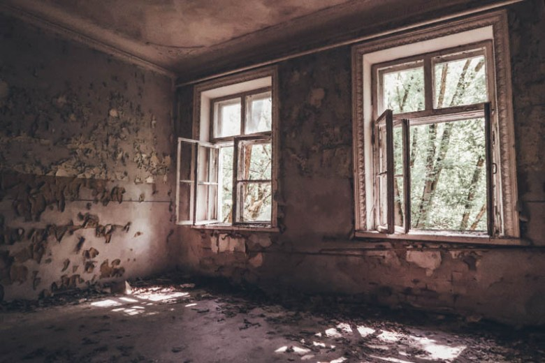 visit Chernobyl abandoned school