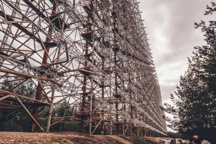 visit Chernobyl nuclear plant chernobyl 2 anti missile antenna