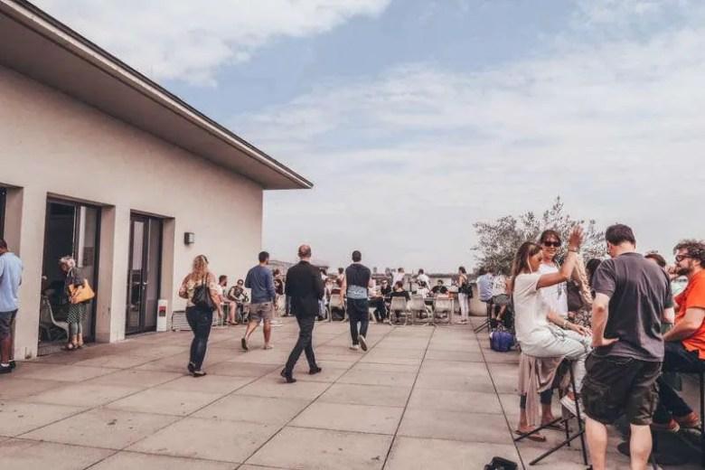 Café im Vorhoelzer Forum munich germany cool places to check out