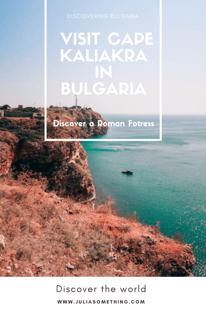 Visit Cape Kaliakra in Bulgaria. Discover this ancient fortress and the breathtaking place