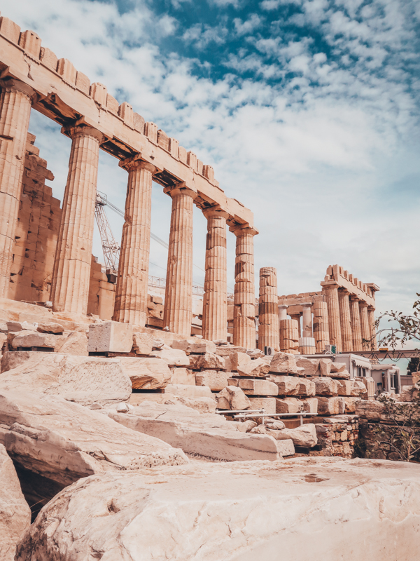 visit acropolis how I spent 7 days in Athens, Greece