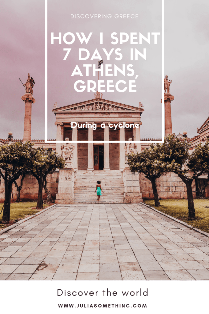 How I spent 7 days in Athens, Greece! (During a cyclone) #Athens #Greece #Europe #Travel #backbacking