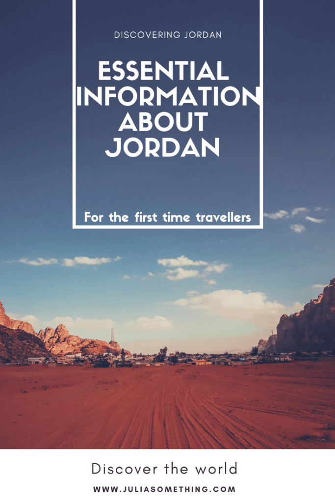 Essential information about the country of Jordan for first time travellers! #Jordan #MiddleEast #VisitJordan