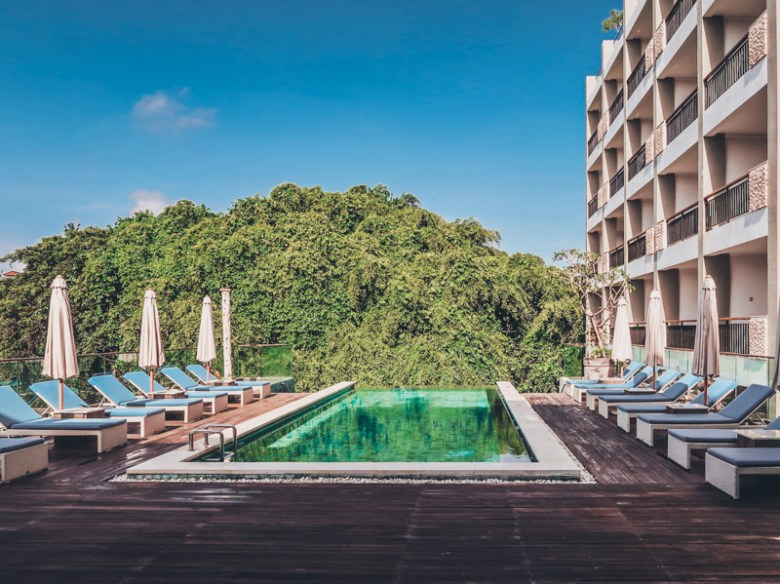 Sthala, a Tribute Portfolio Hotel in Ubud Bali.   Luxurious accommodation in Ubud, Bali  5-day itinerary in Bali for first-timers