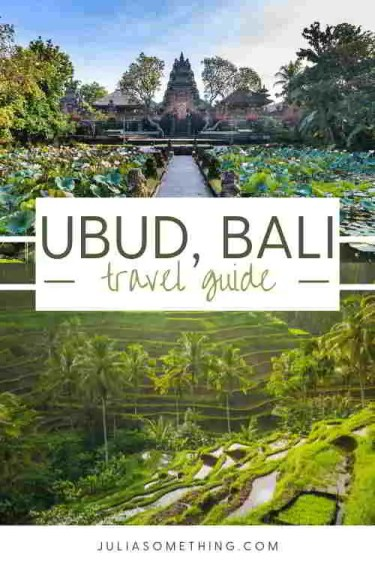 Ubud Travel Guide: Things To Do, Day Trips and Stay