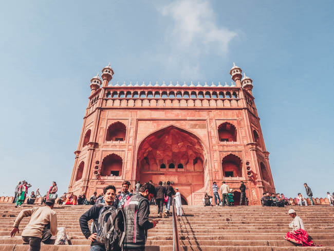 Jama Masjid Mosque first time in india what to do in delhi india