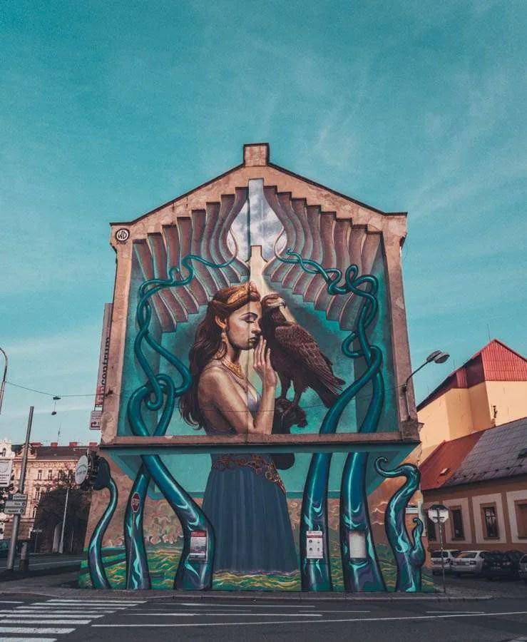 street art A weekend in Olomouc? Here's a list of things to do in Olomouc street art